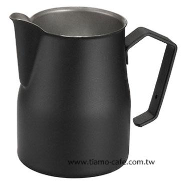 金時代書香咖啡  MOTTA 專業拉花杯 奶泡杯 350ml 黑  HC7080