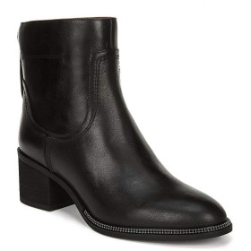 [フランコサルト] レディース ブーツ&レインブーツ Liliana Leather Block Heel Booties [並行輸入品]