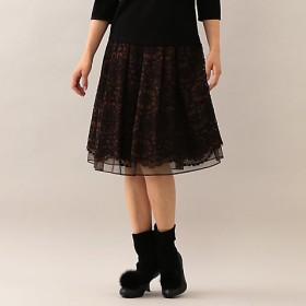 【SALE(伊勢丹)】<TO BE CHIC/TO BE CHIC> ラッセルレーススカート(W5S10831__) パーブル 【三越・伊勢丹/公式】