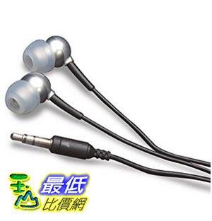 [美國直購] MobileSpec In-Ear Earbud Headphone for iPods/MP3 Players with 3.5mm Plug (Silver) 耳機