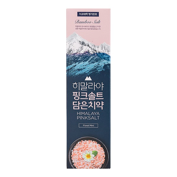 LG喜馬拉雅粉晶鹽牙膏(100g/條)-花香薄荷【康是美】