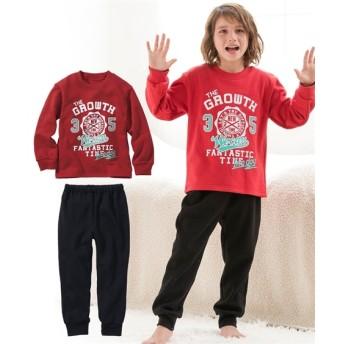 男の子裏起毛プリントパジャマ(男の子 子供服。ジュニア服) キッズパジャマ, Kids' Pajamas, 睡衣