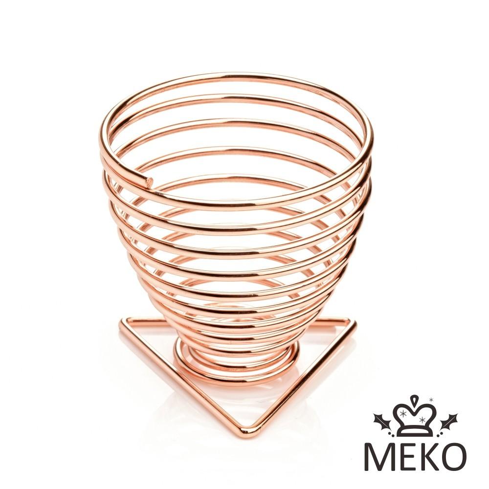 MEKO 玫瑰金螺旋星型美妝蛋收納架 Z-030