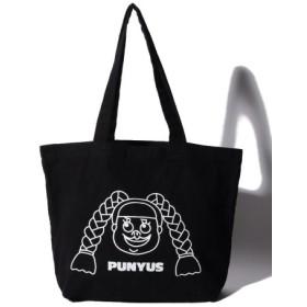 (PUNYUS/プニュズ)カラートートバッグ/レディース ブラック