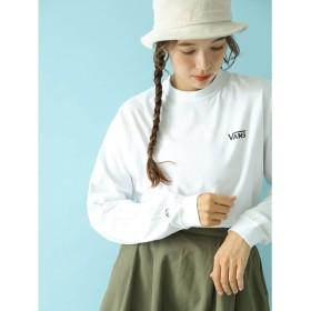 アースミュージックアンドエコロジー earth music & ecology VANS×earth 長袖Tシャツ (White)