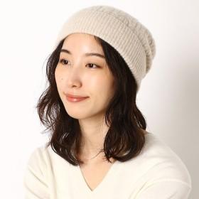[マルイ] ラクーンケーブル編みニット帽/トプカピ(TOPKAPI)