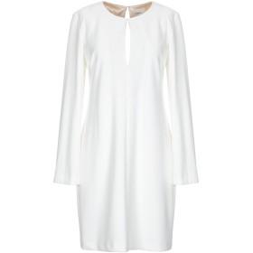 《セール開催中》,MERCI レディース ミニワンピース&ドレス ホワイト 42 95% ポリエステル 5% ポリウレタン