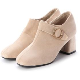 ジーアンドジー G & G レディースファッション パンプス ブーツ ブーティー ショート 靴 シューズ カジュアル (ベージュ)