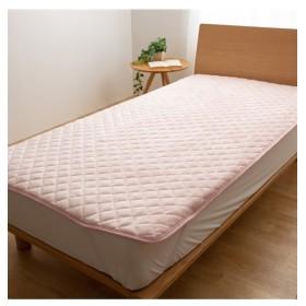【mofua】プレミアムマイクロファイバー多色敷パッド 敷きパッド・ベッドパッド