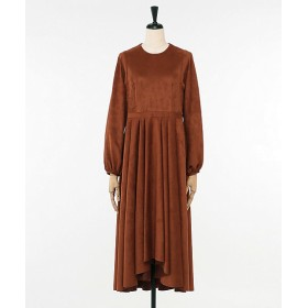 <Room8> F/SUEDE FRAIR DRESS MOCCA 【三越・伊勢丹/公式】