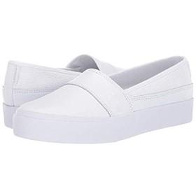 [ラコステ] レディーススニーカー・靴・シューズ Marice Plus Grand 319 1 White/White (27cm) M [並行輸入品]