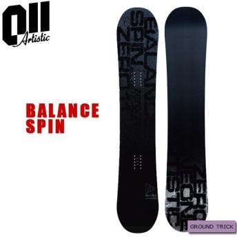スノーボード 板 グラトリ パーク ダブルキャンバー 19-20 011ARTISTICK ゼロワンワンアーティスティック BALANCE SPIN バランス スピン グラトリ ラントリ