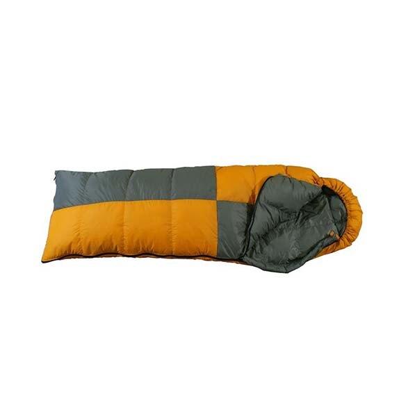 《台南悠活運動家》 FRIENDS SD-404台灣 白羽絨信封型立體隔間保暖睡袋400 g