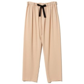 (BEAMS OUTLET/ビームス アウトレット)Demi-Luxe BEAMS/ウエストドロストパンツ/レディース PINK