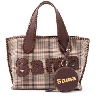 【サマンサタバサ/Samantha Thavasa】 サマタバ トートバッグ (グレンチェックVer) S