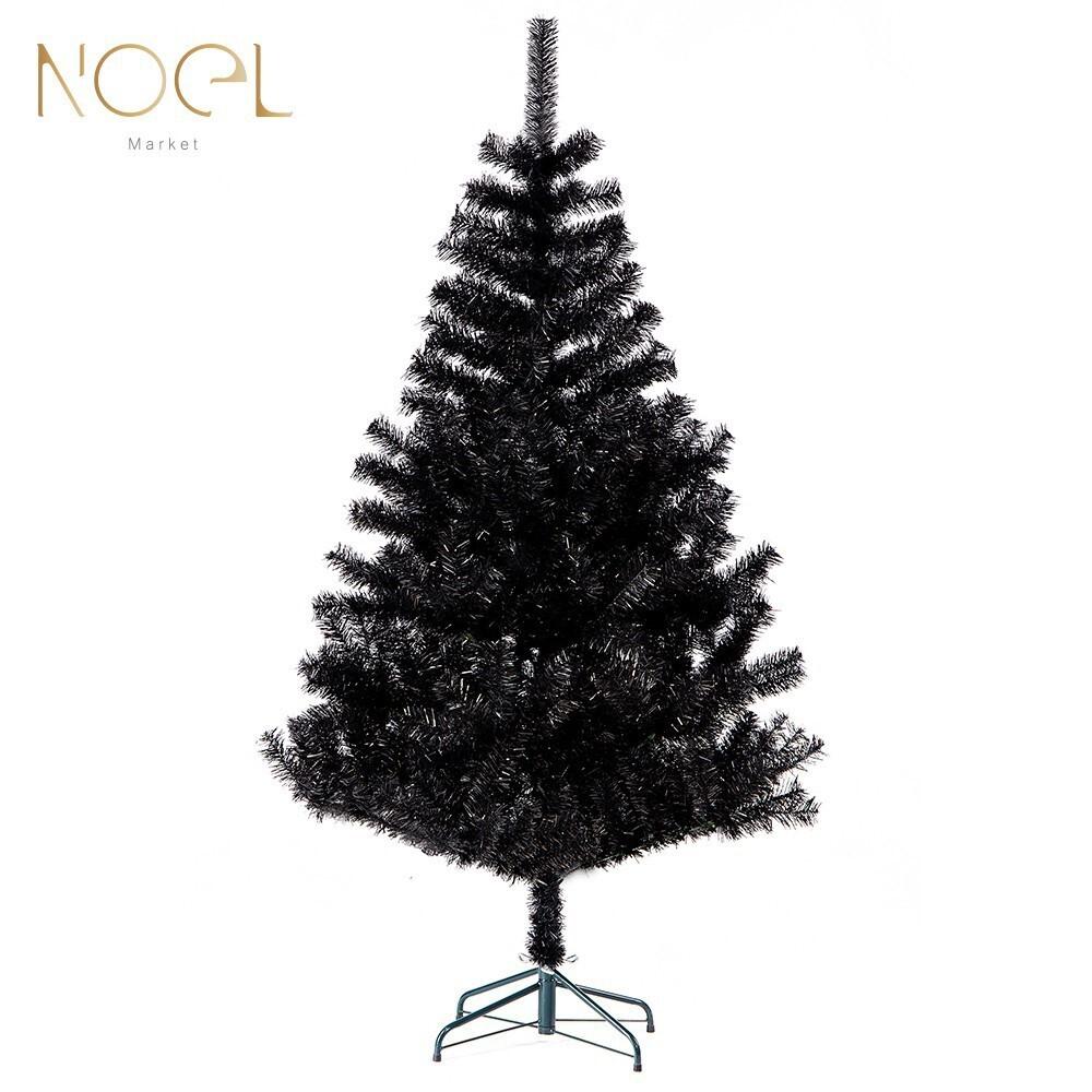noel諾也市集4尺黑色pvc聖誕裸樹  台灣製