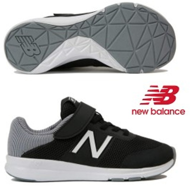 new balance PREMUS Y (プレマス) BK BLACK ランニング シューズ 靴 キッズ 子供 ジュニア nbk 19FW yoprem-bk BLACK