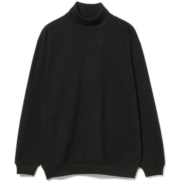 ビームス メン BEAMS / ヘビーウエイト タートルネック Tシャツ メンズ BLACK M 【BEAMS MEN】