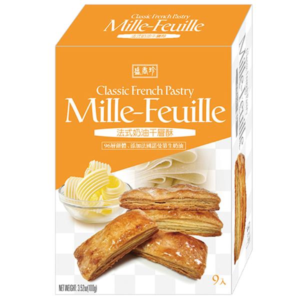 盛香珍法式奶油千層酥