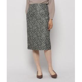 Modify(モディファイ) ラメミニフラワースカート