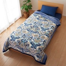 西川株式会社 西川 日本製合わせ毛布 サラミラ シングルサイズ