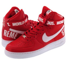 NIKE AIR FORCE 1 HIGH PUPREME SP ナイキ エア フォース 1 ハイ シュプリーム SP RED/WHITE