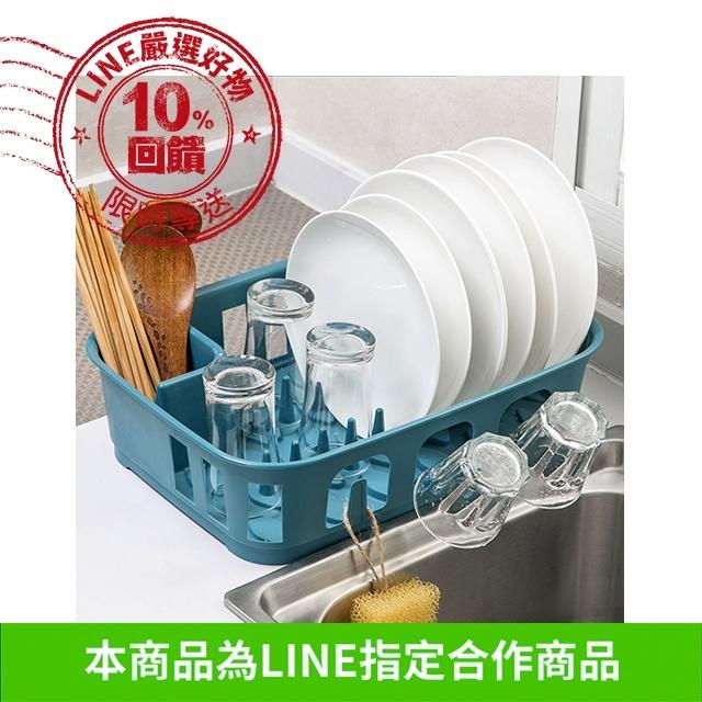 日系排水瀝水碗盤餐具置物架