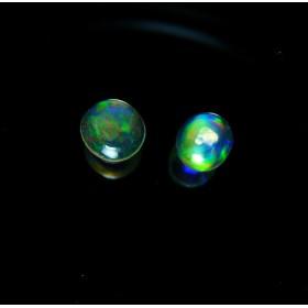 90829-36 ★超特価★ 【エチオピア産】 天然オパール ルース 2個組