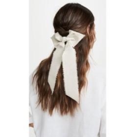 レレット LELET NY レディース ヘアアクセサリー Linen Bow Linen