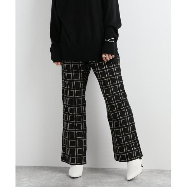 JOURNAL STANDARD 【NEEDLES / ニードルス】cut-off warm-up boot-cut pant:パンツ ブラック XS