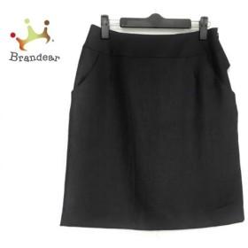 ジャスグリッティー JUSGLITTY スカート サイズ2 M レディース ダークグレー リボン 新着 20190924
