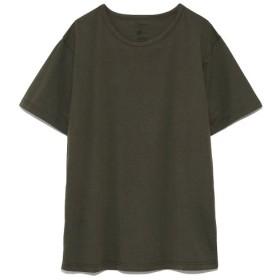 エミ COLORS crew neck T shirts / emmi レディース DGRN S 【emmi】