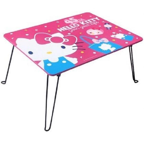 正版授權 木製 hello kitty 折疊桌 和室桌 兒童桌 茶几 卡通桌