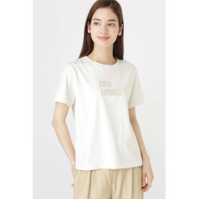 HUMAN WOMAN ロゴプリントTシャツ その他 カットソー,キナリ1