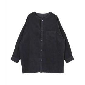 [マルイ]【セール】コーデュロイノーカラーロングシャツ/ジャケット/ティティベイト(titivate)