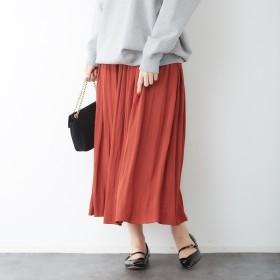 [マルイ] ドビーギャザースカート/ルージュ・ヴィフ ラクレ(Rouge vif la cle)