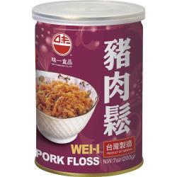 【味一食品】豬肉鬆200G(易開罐)*6入組