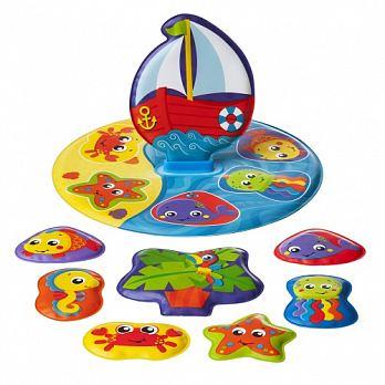 澳洲 Playgro 洗澡趣漂浮小船 PG0186379【紫貝殼】