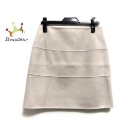 アドーア ADORE スカート サイズ38 M レディース 美品 ベージュ リバーシブル 新着 20190925