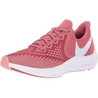 Nike WMNS Zoom Winflo 6 [AQ8228-800] Women Running Shoes Light Redwood/White/US 6.5