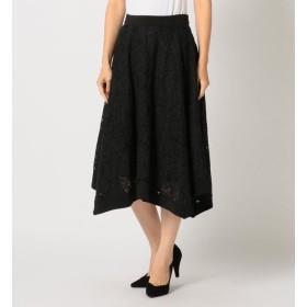 【ミューズ リファインド クローズ/MEW'S REFINED CLOTHES】 イレヘムレースフレアスカート
