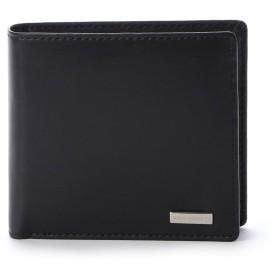 コムサイズム COMME CA ISM 〔モノコムサ〕 2つ折り財布 (ブラック)