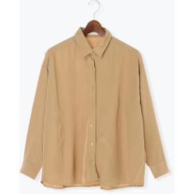 【6,000円(税込)以上のお買物で全国送料無料。】TR BIGシルエットシャツ 長袖
