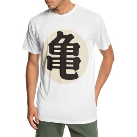 ベーシックTシャツ メンズ 半袖 コットン ドラゴンボール亀 軽い 柔らかい 丸襟 カジュアル ショートスリーブカ クルーネック 快適 吸汗速乾