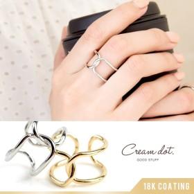 【ゆうパケット送料無料】リング 指輪 ワイドリング シンプル ゴールド 金 13号 15号 レディース シンプル デザイン 重ね着け 人気 流行 ブランド デザインリング プレゼント アクセサリー