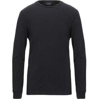 《セール開催中》LAB. PAL ZILERI メンズ T シャツ ブラック L コットン 92% / ポリウレタン 8%