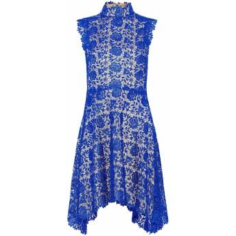 《セール開催中》CATHERINE DEANE レディース ミニワンピース&ドレス ブルー 10 ポリエステル 100%