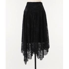 <Arobe/アローブ> Kaimayer Lace Skirt Black【三越・伊勢丹/公式】