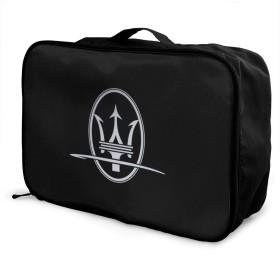 トラベルバッグ Maserati アレンジケース 旅行ケース スーツケース 旅行箱 収納バック アレンジケース 大型 大容量 出張 荷物ポーチ ポータブル 手提げ 短期出張 多機能 便利 PC周辺小物整理 ビジネス洗面用具入れ 掛け可能 仕分け