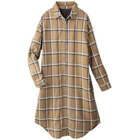 [マルイ] あったか裏フリースロングシャツ/ジーラ バイ リュリュ(ファッション)(GeeRA (fashion))